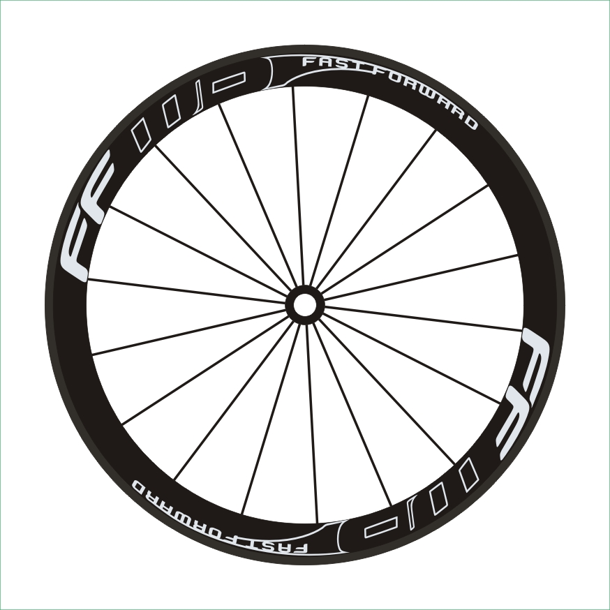 Cosmic Carbone Wheel Decal//stickers For Road Bike Bicycle Cycling DecalSet of12