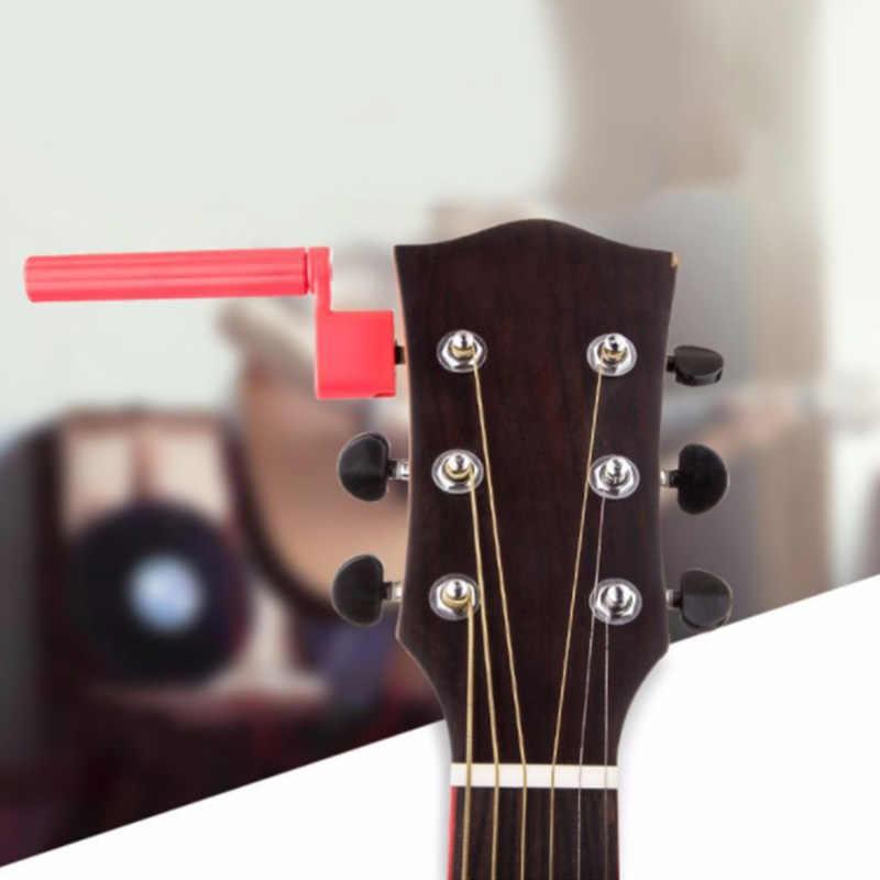 Cordes de guitare acoustique corde de basse corde pont broche extracteur cheville enrouleur de fourrure outil en plastique outil d'entretien outil de réparation Luthier