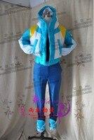 Драматического Убийство DMMd seragaki aoba Косплэй костюм полный комплект пальто трусики перчатки пояса ног Обложки