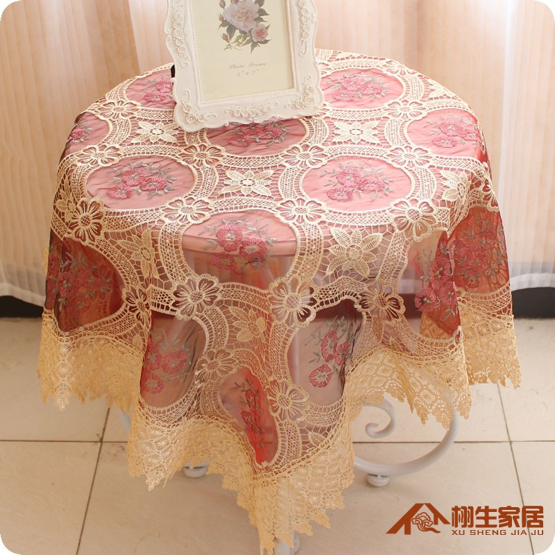 Lace New Style Table Cloth Hotel Tablecloths Restaurant Coffee Table Party Home Table Cloth Newspaper Desk Table Cover