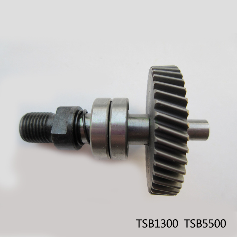 Original tools accessories ,Hand electric drill spindle gear shaft with bearings for Bosch TSB1300 TSB5500