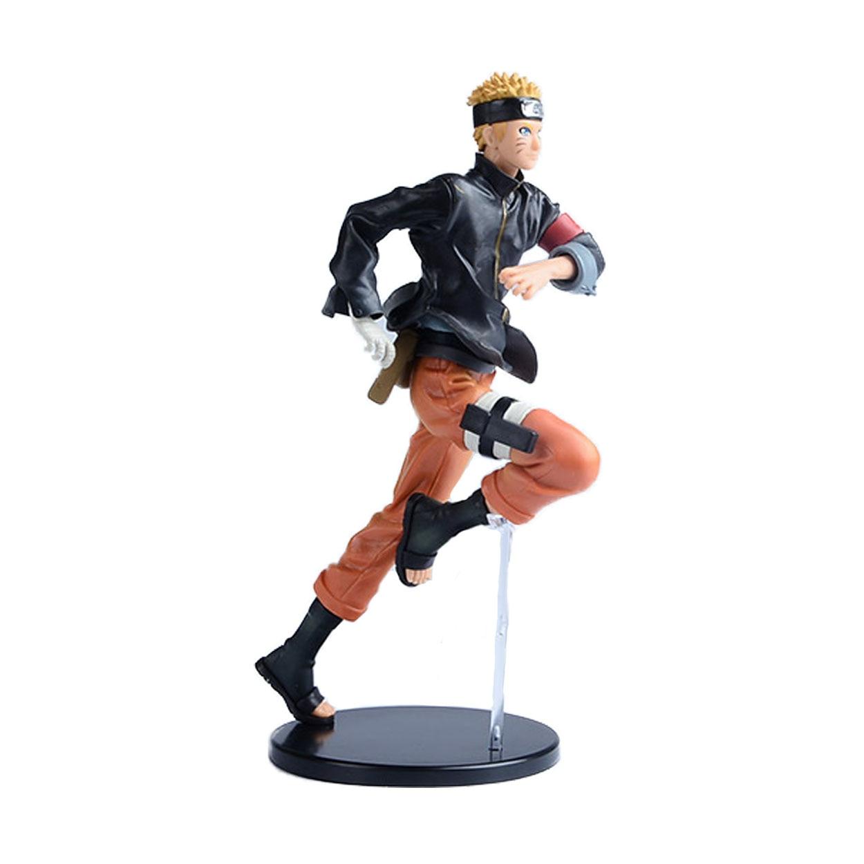 22CM Anime Naruto Ninja Uzumaki Figure Hokage Tsume XTRA PVC Action MODEL DOLL OPP