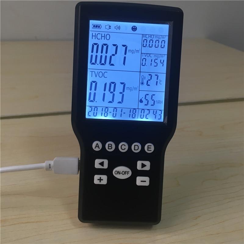 2017 Portable HCHO formaldehyde detector air quality monitor portable air quality detector formaldehyde hcho