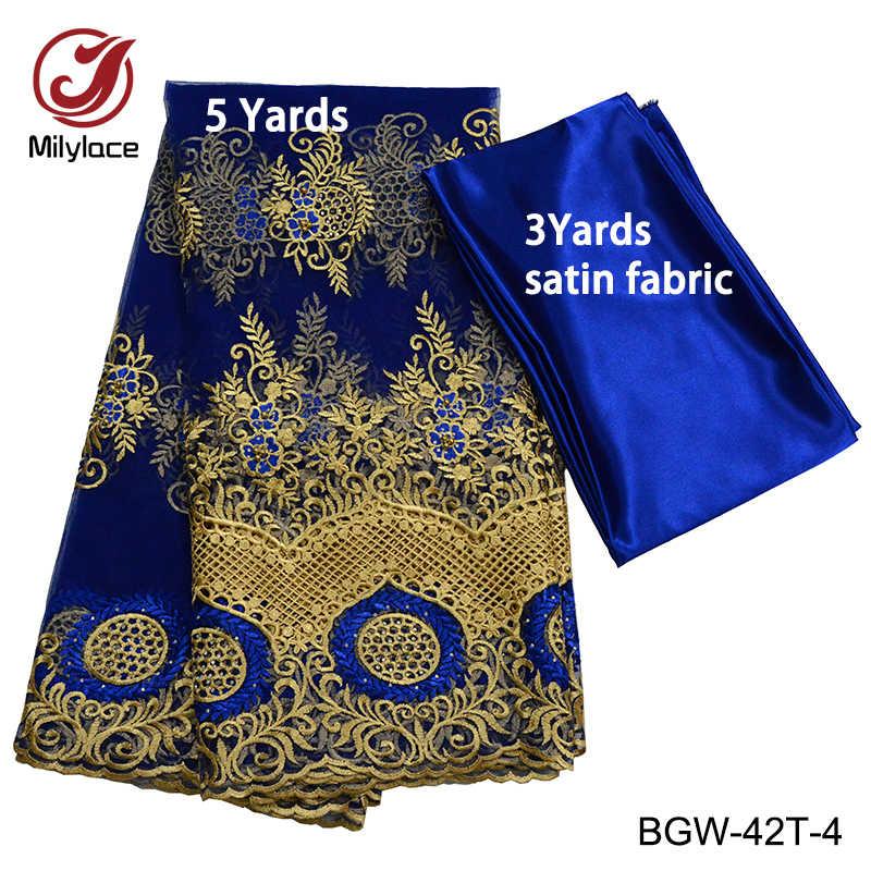 Millylace африканская кружевная ткань бусы французская кружевная ткань коралловые вечерние кружевные ткани вышивка высокое качество свадебное кружево ELW-30