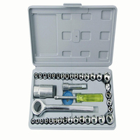 40 Sets of Manual Hardware Tools Set Machine Repair Socket Wrench Auto Maintenance Tools Auto Repair Tool Combination Set