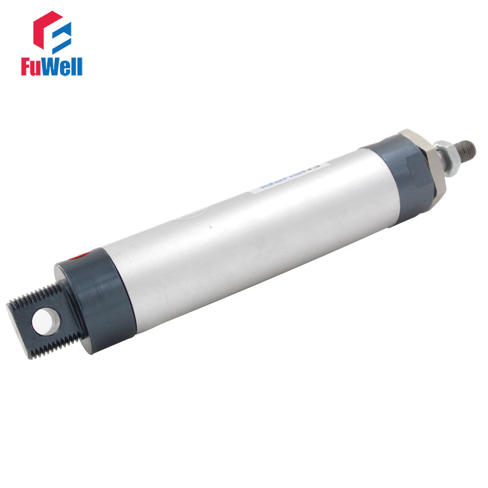 MAL Type Aluminum Alloy Single Rod 16mm Bore 25/50/75/100/125/150/200/250/300/400mm Stroke Double Acting Pneumatic Air Cylinder high quality double acting pneumatic gripper mhy2 25d smc type 180 degree angular style air cylinder aluminium clamps