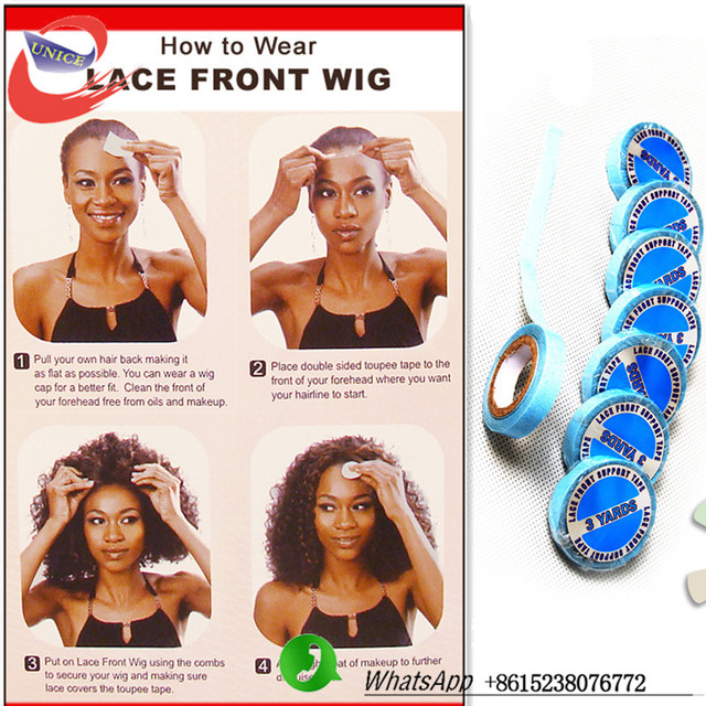 Good Quality Lace Front Support Double Sided Adhesives Tape For Hair
