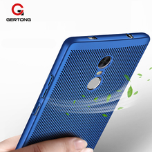 GerTong Heat Dissipation PC Case For Xiaomi Redmi Note 4 4X 4A Pro 3 3S X Mi6 Mi5 Mi 6 5 Case Cover For Redmi 4X Coque Funda