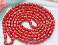 Women Gift word Love real huij 004906 100 12x14mm massive red coral NECKLACE