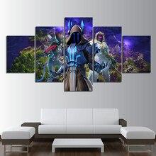 Плакат видеоигры Wall Art HD с Куадрос картинки 5 шт Ice King Lynx Зенит мультяшное украшение для дома Холст Живопись художественное творчество