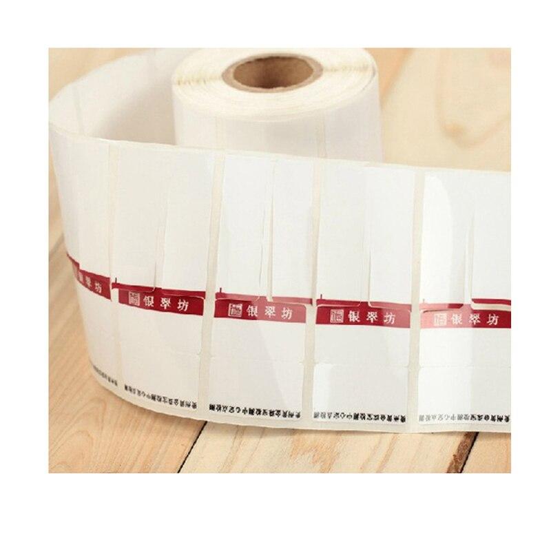 100 étiquettesPersonnalisé Autocollant vrac Imprimer Vinyle Autocollants Étiquettes Logo Autocollants Étiquette