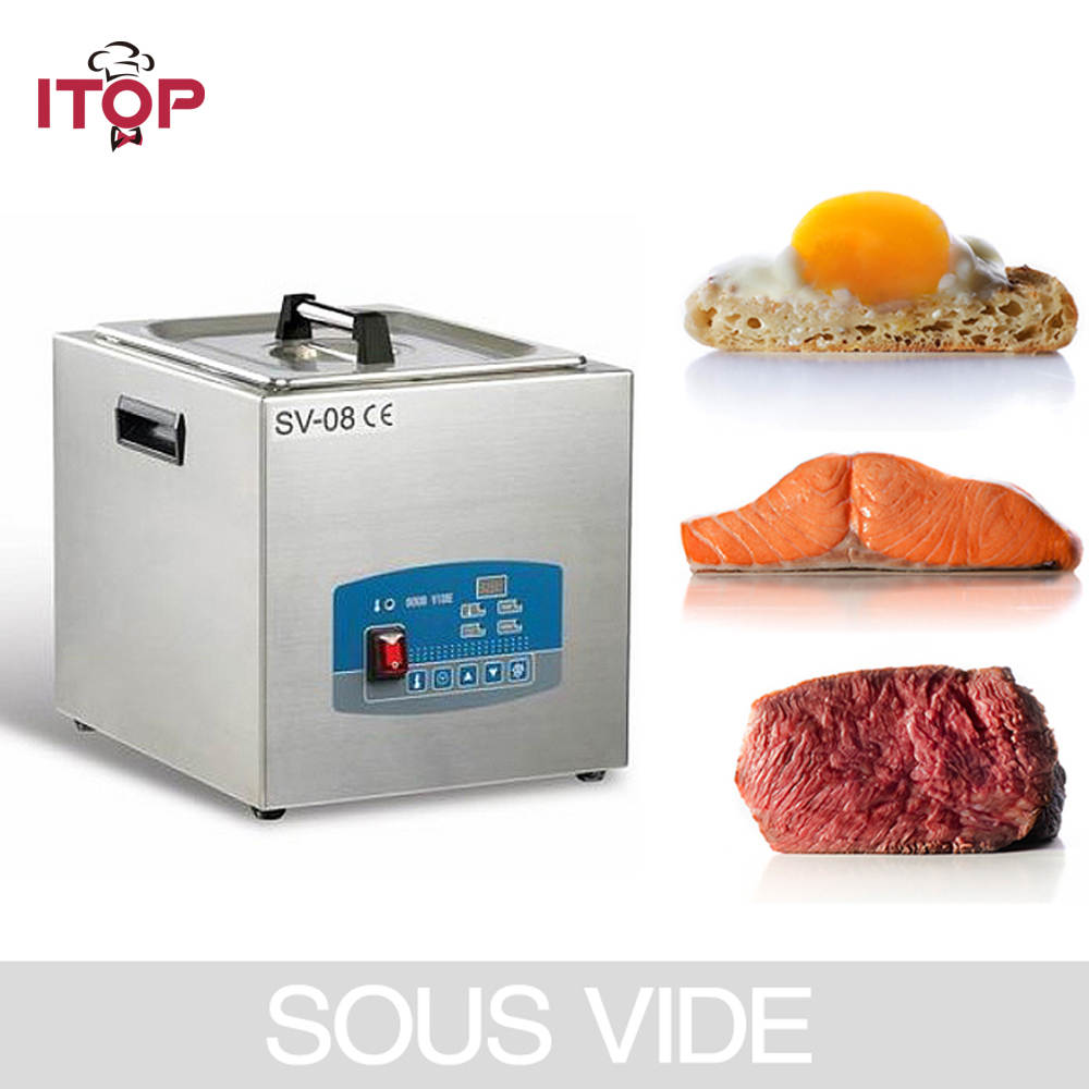 Sous Vide Cooker 8L 85 degree Constant Temperature Cooking with Microcomputer Control for Vacuum-packed Meat hzdz microcomputer temperature control switch black 5v