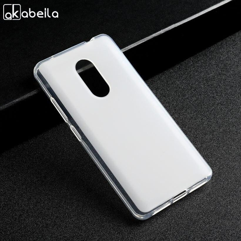 AKABEILA Case For TP-LINK Neffos X1 Lite Case For TPlink neffos x1 lite TP904A TP904C Covers Soft Silicone Cases White Plain ...
