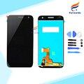 100% Nuevo Probado para Huawei Ascend G7 LCD Screen Display con Toque asamblea Digitalizador + Herramientas Negro y Blanco 1 unidades envío gratis