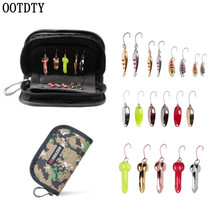 OOTDTY 1 Set Fishing Lure Horse Mouth Sequin With Sequined Shrimp Bait 1.5 g - 5