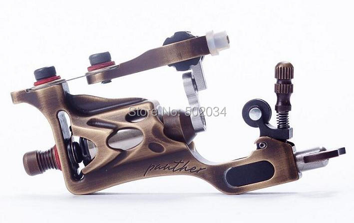 USA Dispatch Pro Rotary Tattoo Machine CNC carving Brass Gun for Shader Liner Made Germany Motor supplies 1set pro neuma style rotary tattoo gun machine for shader