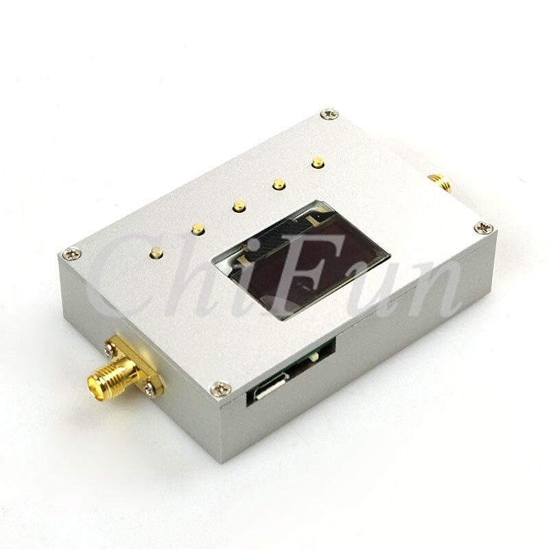 Handheld Frequency Spectrum Analyzer 83.5-4300 MHz RF Source Power Meter FM WIFI