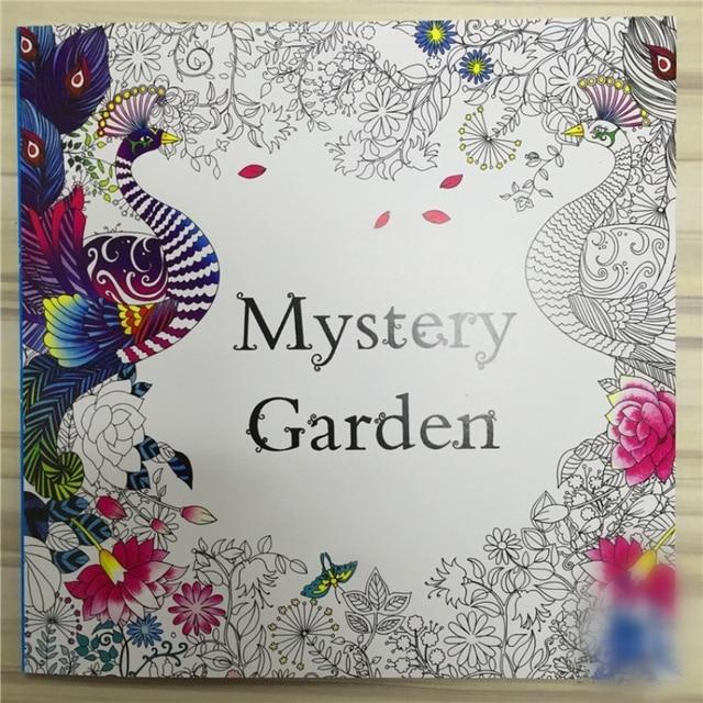 Misterio Jardin Libro Para Colorear Para Ninos Adultos Mandala El