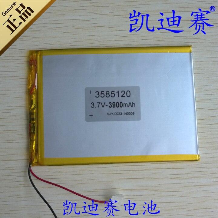 3. 7v3900mah литий-полимерный аккумулятор 3585120 Планшеты ПК, ноутбук и других общего назначения батареи Перезаряжаемые литий-ионный аккумулятор rec