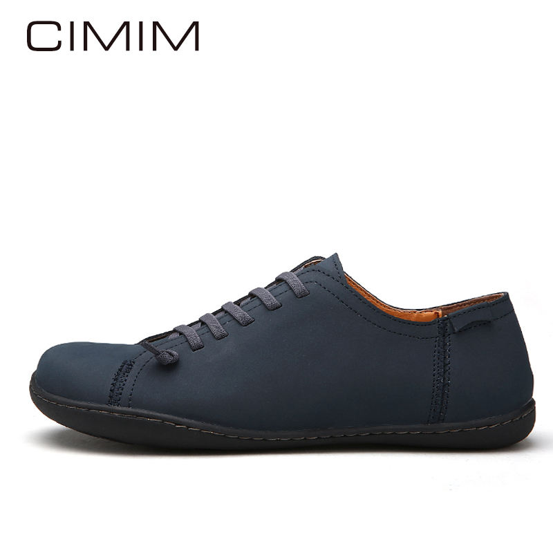 CIMIM Mens Loafers Leather Mens Casual Shoes Men's Flats Handmade Shoe Mens Dress Loafers Shoes Fashion Slip On Shoes Mens