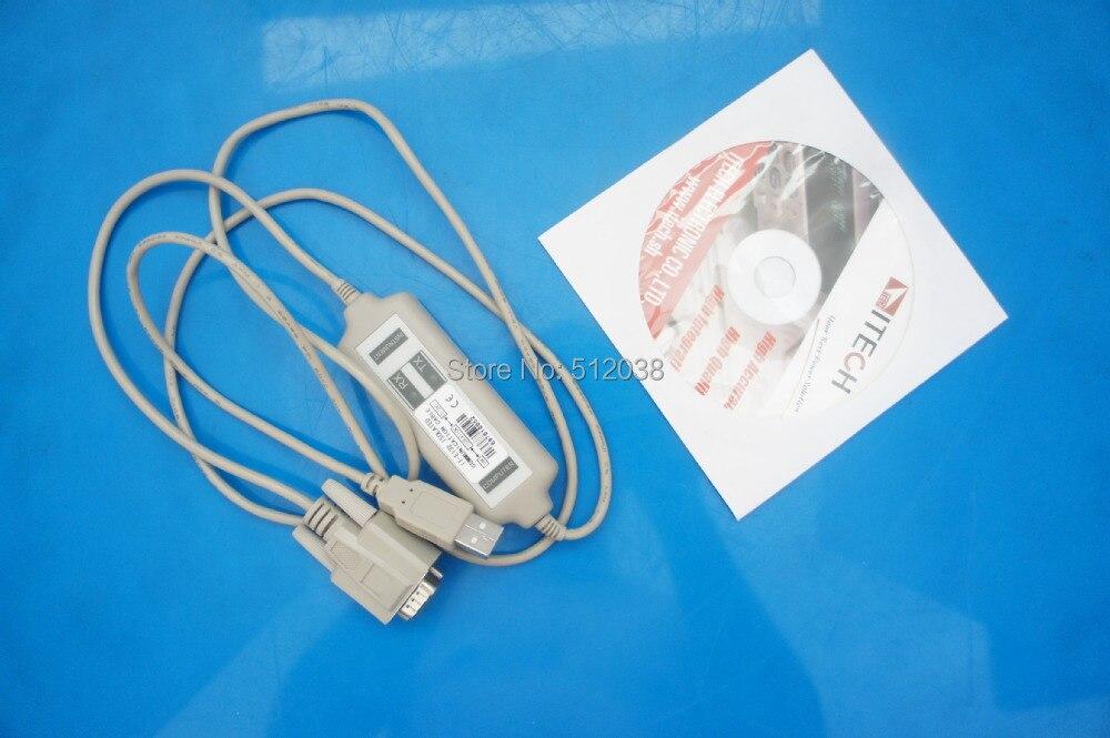 Cavo di Comunicazione USB e CD software per ITECH IT8510 IT-E132 DC Electronic LoadCavo di Comunicazione USB e CD software per ITECH IT8510 IT-E132 DC Electronic Load