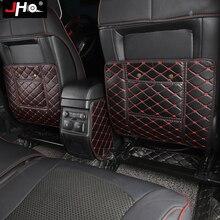 JHO заднее сиденье автомобиля подлокотник коробка анти защита спинки кресла для 2011-2018 Ford Explorer 2013 2014 2015 16 17 протектор кожаный коврик аксессуары