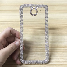 New Luxury 3D Flowers Rhinestone Bling Hard Plastic Phone Cases Cover For Samsung Galaxy J2 Prime G532F J5 G570F J7