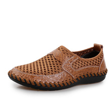 Mens Zapatos Al Aire Libre Respirables 2017 de Primavera/Verano Fresco Resbalón En Los Zapatos de Los Hombres de Moda Zapatos Para Caminar sapato zapatillas masculino