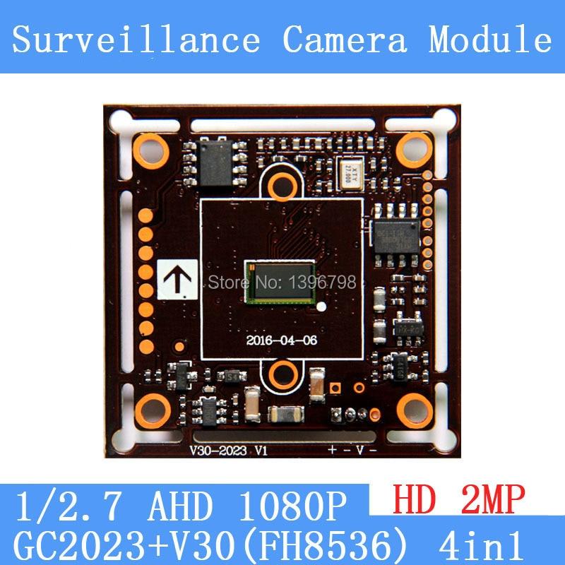 где купить 2MP1920*1080 AHD CCTV 1080P Camera Module Circuit Board , 1/2.7 CMOS GC2023 + V30 (FH8536) 2000TVL PCB Board PAL / NTSC Optional по лучшей цене