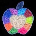 12 Cor Hama Perler Contas 1800 pcs box set de 5mm Beads para Crianças jigsaw puzzle Educação diy Brinquedos