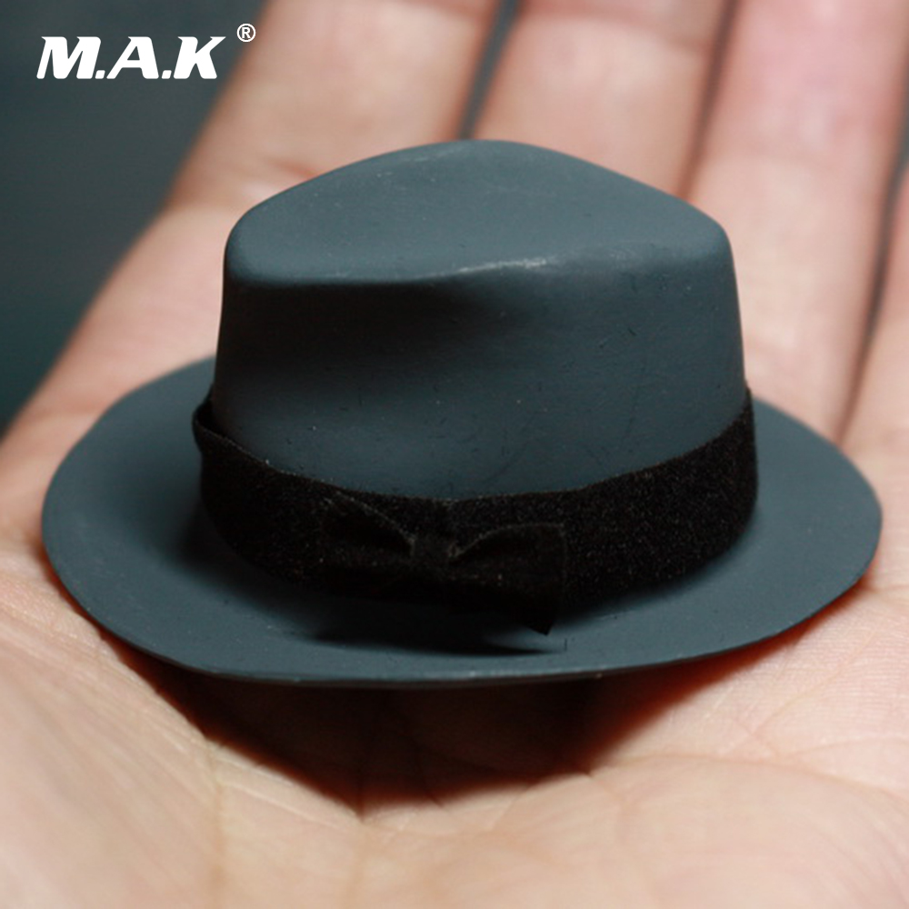 Black Bowler Hut Zubehör für 12 /'/' Hot Toys Action Figure Kleidung 6 1