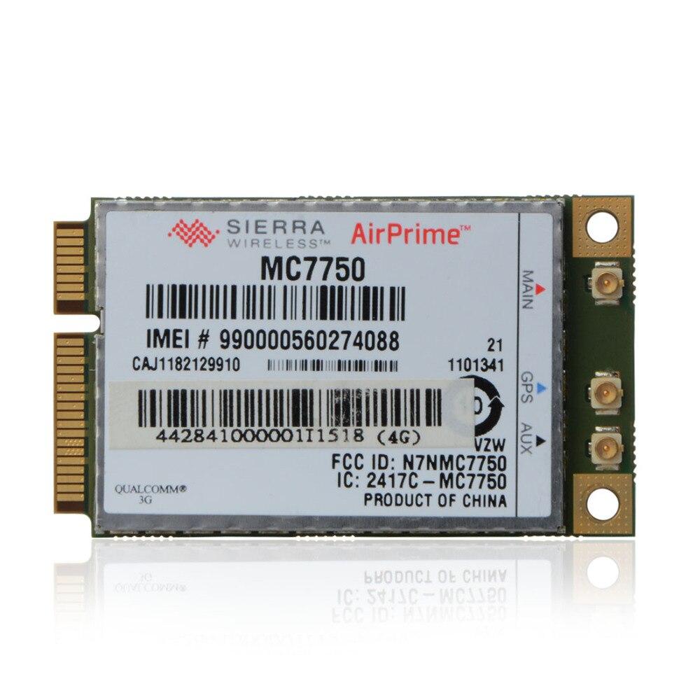 Wireless Network Card For Panasonic AirPrime Sierra Wireless 4G WWAN Mobile Pcie Card MC7750 Verizon Network Cards Laptop