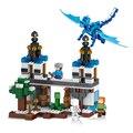 Lele mi mundo minecraft el cielo dragón modelo de acción anime figuras building blocks ladrillos divertidos juguetes para niños compatibles lepin