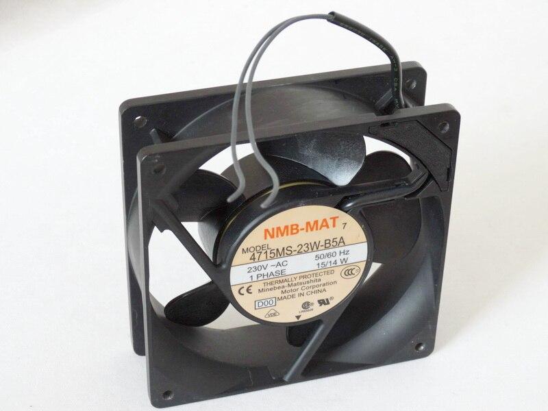 Original NMB 4715MS-23W-B5A AC220V 15/14W 120*120*38MM 12CM industrial cooling fan цены