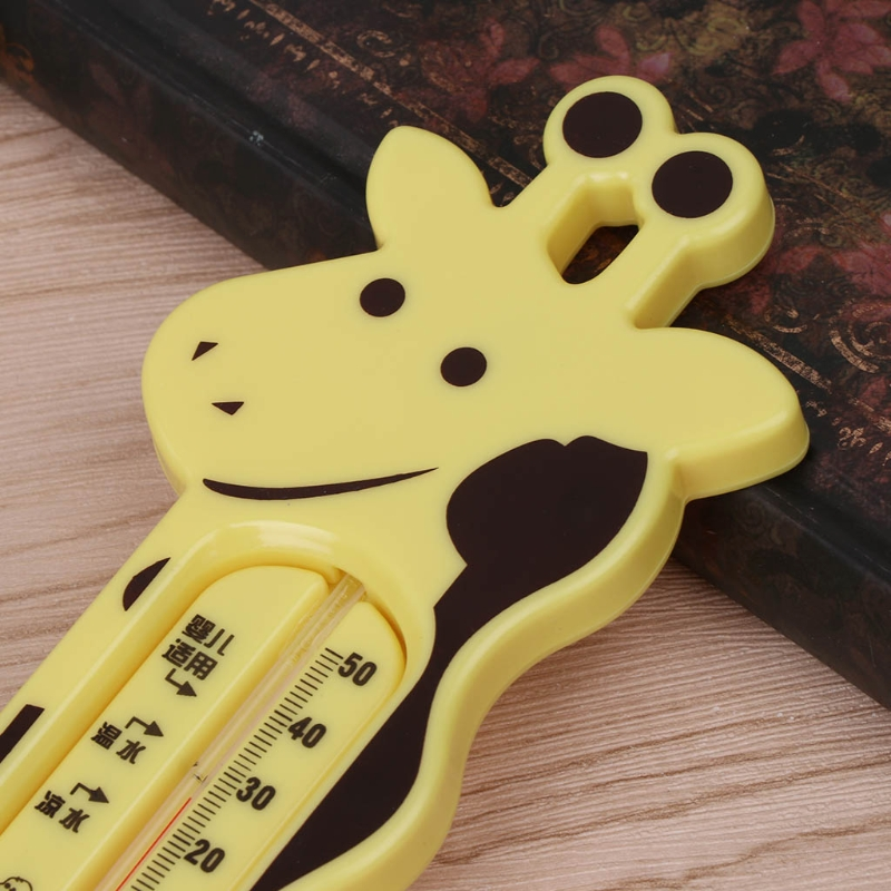 Giraffe Shape Lovely Water Thermometer Baby Bathing Temperature Infants Toddler Shower