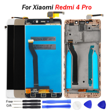 For Xiaomi Redmi 4 Pro LCD Display 5.0 for Prime 2G Screen Touch Panel Digitizer Frame IPS No Dead Pixels