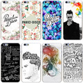 Panic at the disco rígido transparente capa case para iphone 7 7 plus 6 6 s plus 5 5S se 5c 4 4S