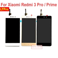 5 0inch 100 New Redmi3 Prime Full LCD Display Touch Panel Screen Digitizer Assembly For Xiaomi