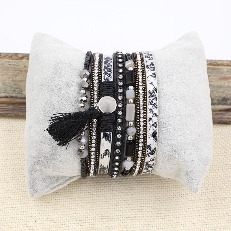 Βραχιόλι PU Δερμάτινα βραχιόλια & Bangles - Κοσμήματα μόδας - Φωτογραφία 6