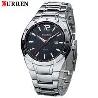 2018 New CURREN Luxury Brand Men Sport Watches Men Quartz Watch Stainless Steel Men Fashion Casual Wrist Watch Relogio Masculino