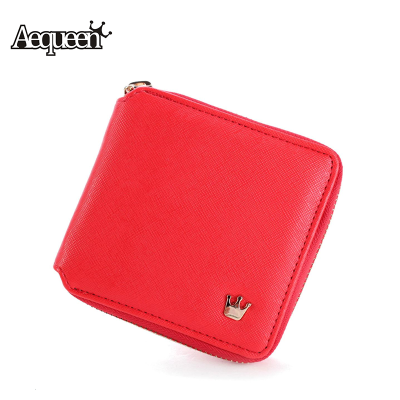 Multi Interbed Women Potable Wallet Small Purse PU Cute Internal Detached Pouch Bag Zipper Lady Short Girl Mini Coin Card Holder fashion women coin purses dots design mini girl wallet triple zipper clutch bag card case small lady bags phone pouch purse new