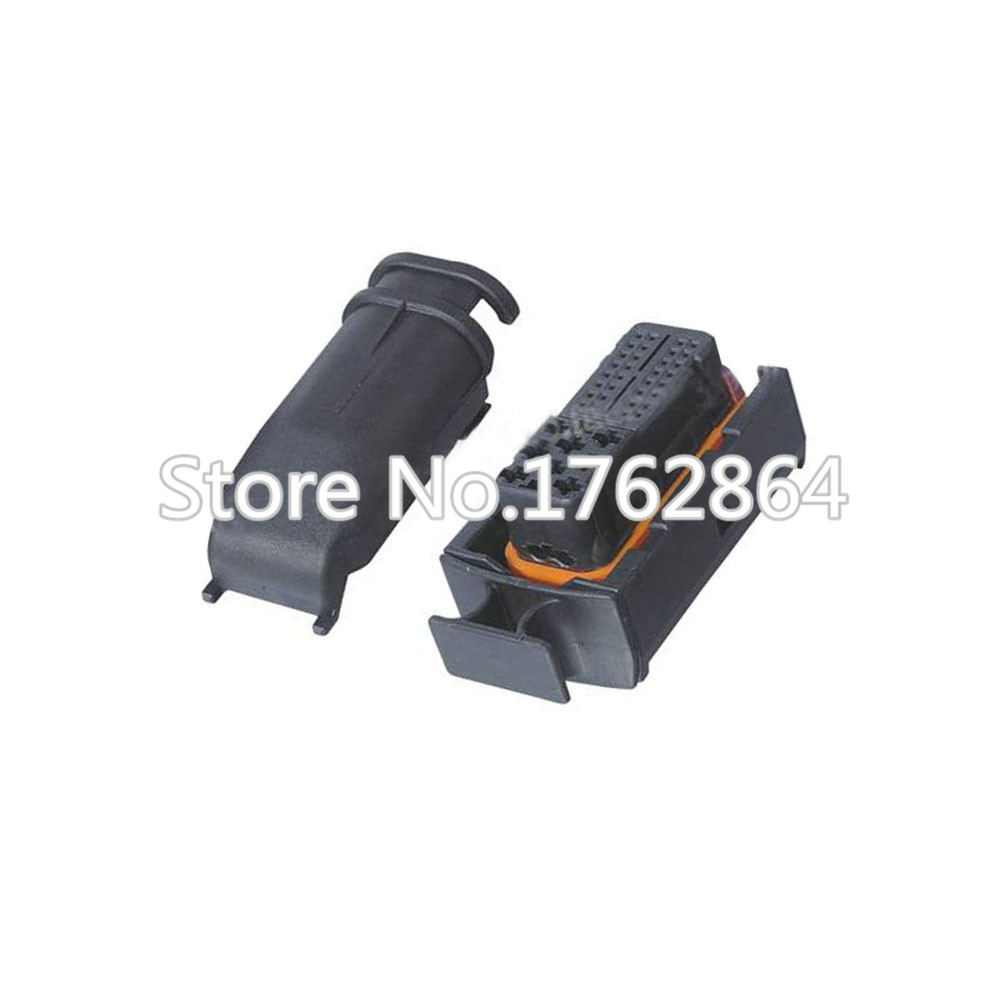 40 Pin automotive connector plastic connector ignition harness connector with terminal DJ7401-1/3.5-21 40P цена