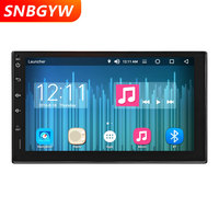 7 Touch Screen Android 8 Core 2 din Car Multimedia Player GPS Navigation Auto Radio Stereo Buetooth mp3 usb Player DH001