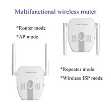 300Mbps Repeater Wireless Wifi 2.4Ghz Router Home Network Extender Long Range Amplifier AP Signal Booster
