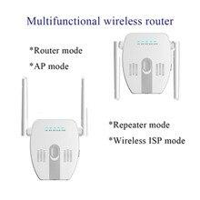 Беспроводной Wi Fi ретранслятор 300 Мбит/с, 2,4 ГГц, Wi Fi роутер, домашняя сеть, усилитель дальнего действия, AP роутер, усилитель сигнала Wi Fi