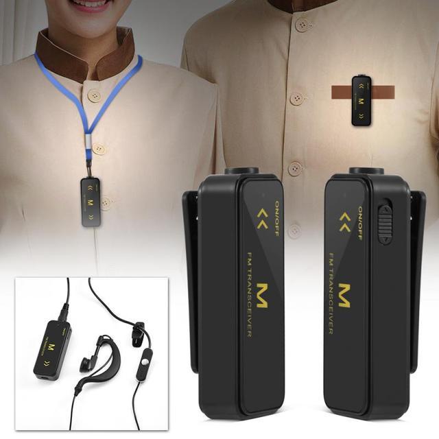 2ピーストランシーバーuhf双方向ラジオポータブルcbラジオuhf 400 470 mhz 16ch 300 mah tx電流プロフェッショナルtaklieトランシーバー