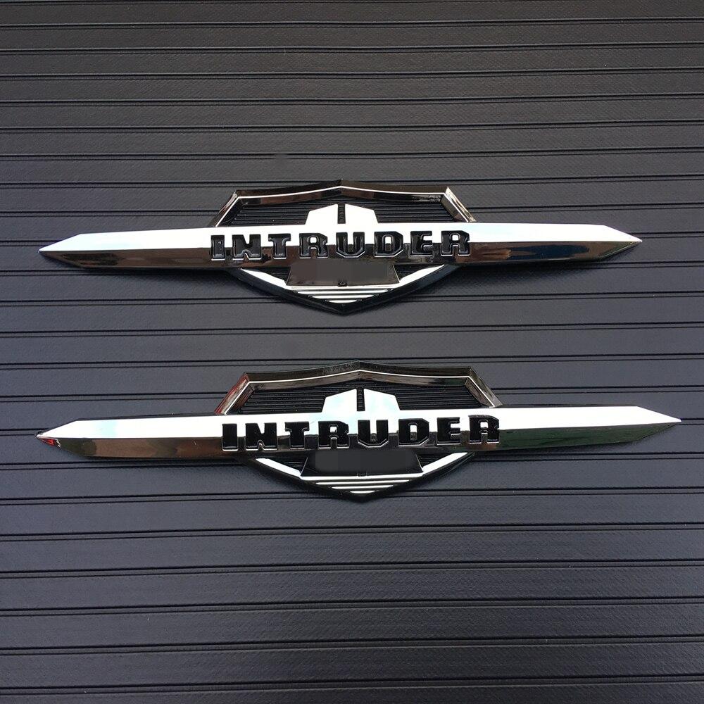 Motorcycle Decals Gas Tank Fairing Emblem Badge For Suzuki Intruder 1400 /1500 /700 /800 /Volusia 800 ABS Plastic