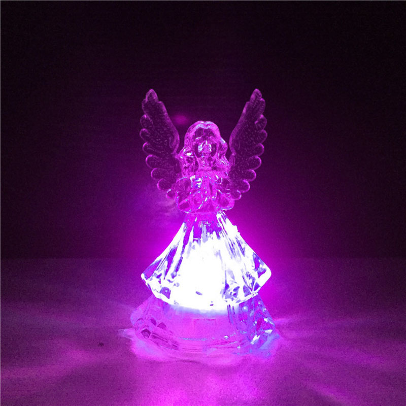 360pcs Mini Cute LED Angel Night lights Lamp Novelty Gifts for Home Christmas New Year Fairy Wedding Decoration ZA5285