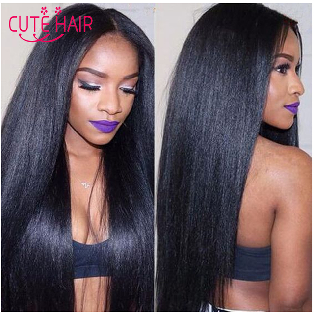 US $82.6 |Peruvian virgin hair Yaki Hair