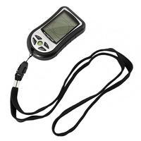 Portátil 8 Em 1 Digital LCD Bússola Altímetro Barômetro Temperatura Relógio digital altímetro Pesca